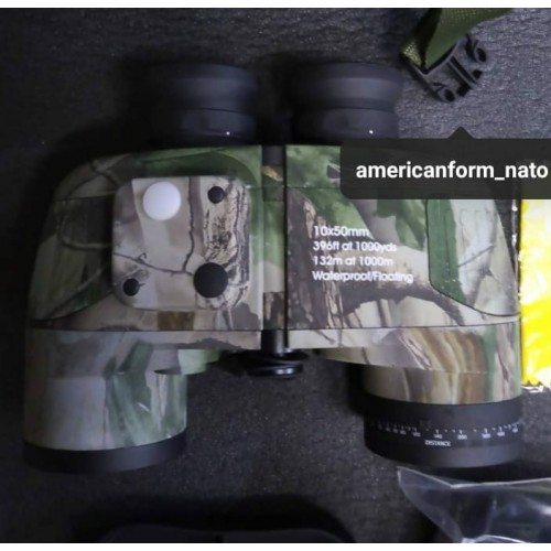 Бинокль Mentoh10х50 мм #камуфляж