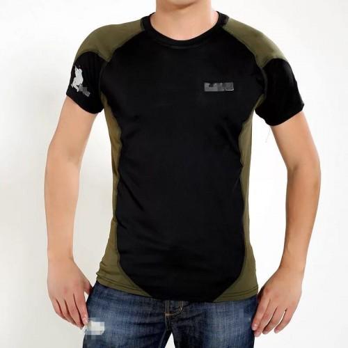 Комбинированная футболка 5.11 (чёрная)