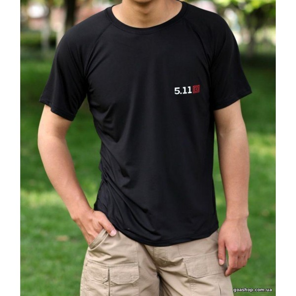 Тактические футболка tactical 5.11 #Black