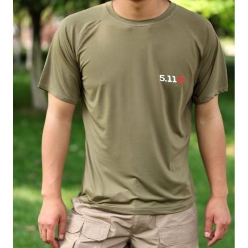 Тактические футболка tactical 5.11 #Oliva