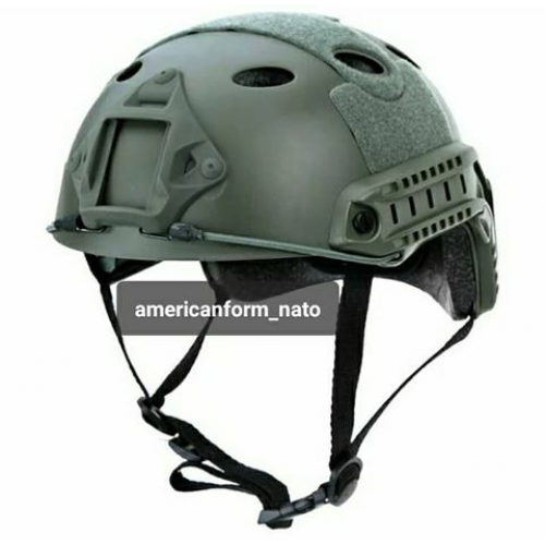 Ops-Core Fast Base Jump Helmet  Olive