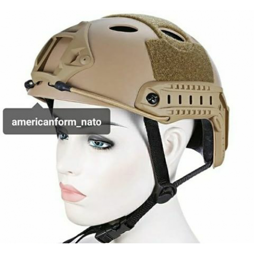 Ops-Core Fast Base Jump Helmet  Brown