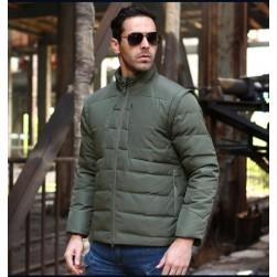 Куртка-жилетка (2 в 1) олива