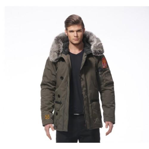 Зимняя куртка 726 Army Fans (Аляска-Олива)