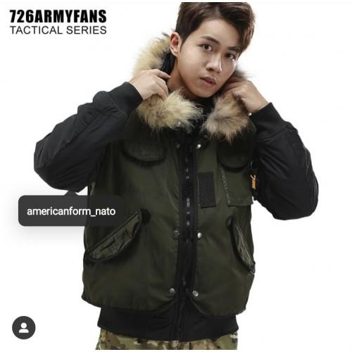 Куртка 726 tactical (2в1) #ЧЕРНЫЙ