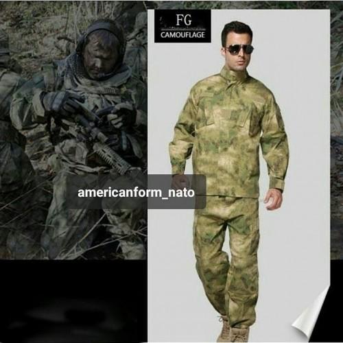 Армейский летний китель Армии США-ATACS FG
