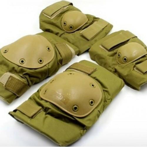 Защитные комплекты(наколенники + налокотники) #кайот