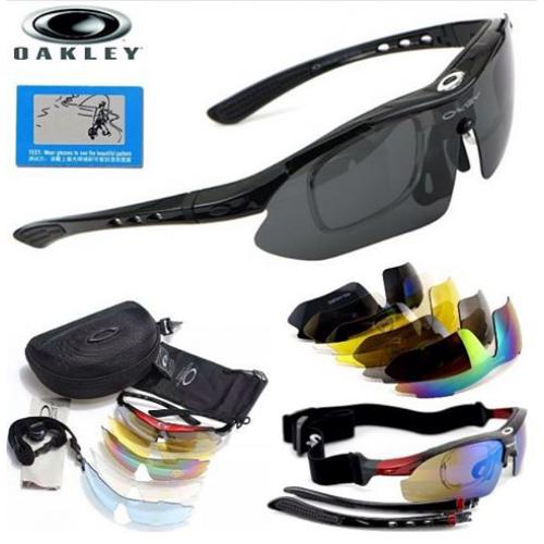 Очки OAKLEY спортивные, поляризационные, 12 предметов.