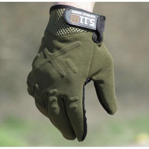 Перчатки 5.11 #зеленый
