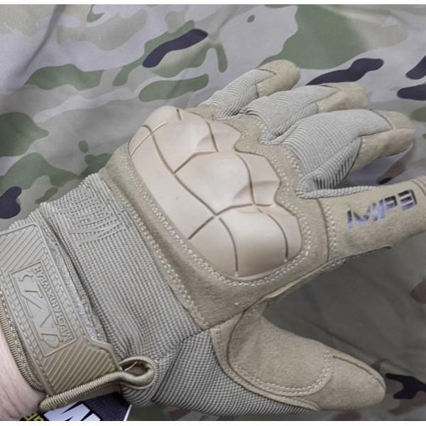 Тактические перчатки Mechanix M-Pact 3 #Песочные