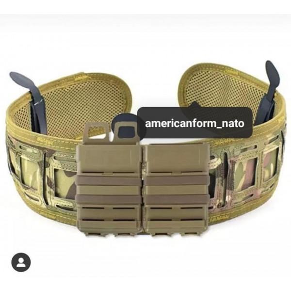 Тактический военный поясной ремень Asiaon Tactical Gear (ПОЯС) #мультикам