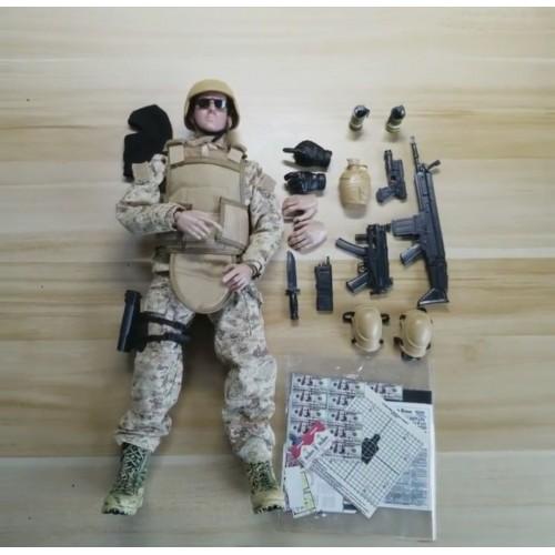Игрушка спецназовец special forces figure