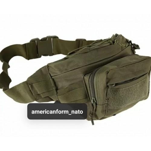Поясная тактическая сумка #олива