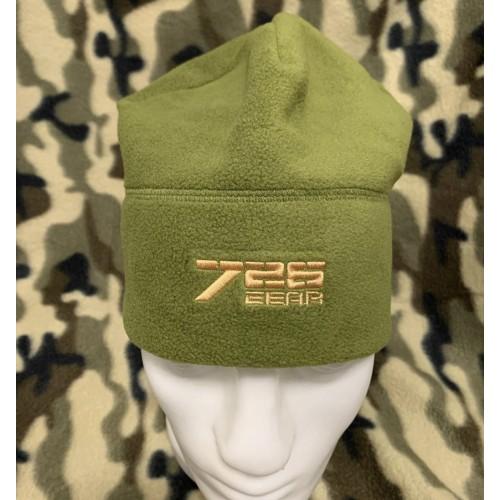 Тёплая тактическая шапка 726 из флиса #хаки