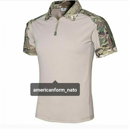 Рубашка тактическая с коротким рукавом #мультикам