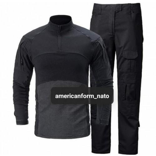 Тактическая форма Combat Shirt (чёрный)