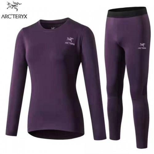 Женское термобелье Arcteryx #фиолетовый